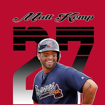 Matt Kemp - Atlanta Braves by haydenburkiit