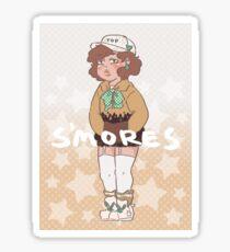 s'mores frappuccino  Sticker