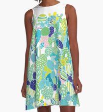 Cactus Mania A-Line Dress