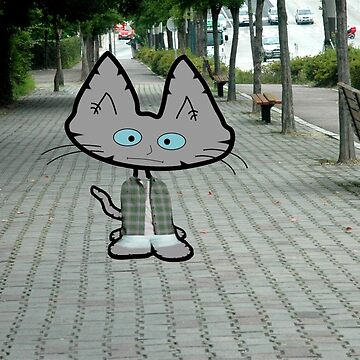 90's Flash Back Cat by JohnsCatzz