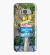 Margaritaville in Hollywood, Florida Samsung Galaxy Case/Skin
