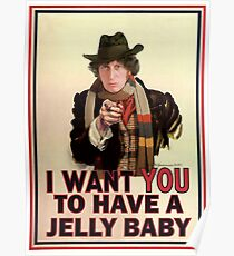 I want you to have a jelly baby Poster