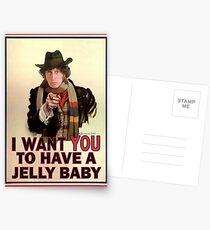 Ich möchte, dass du ein Wackelpudding hast Postkarten