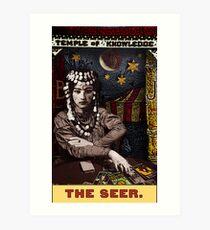 The Seer: from the Tarot of the Zirkus Mägi Art Print