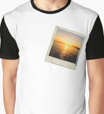 Sunset Polaroid Graphic T-Shirt