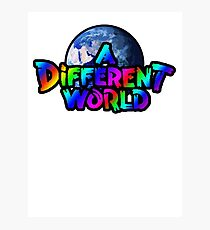 A Different World color Photographic Print