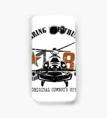 American Army helicopter illustration  Samsung Galaxy Case/Skin
