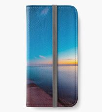 Sunset at the sea, Trieste iPhone Wallet/Case/Skin