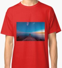 Sunset at the sea, Trieste Classic T-Shirt
