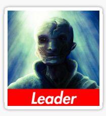 the SUPREME Leader Sticker