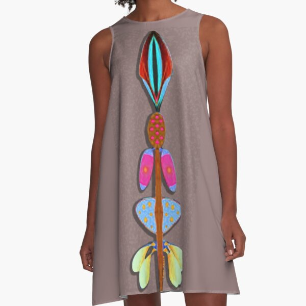 TALKING STICK A-Line Dress