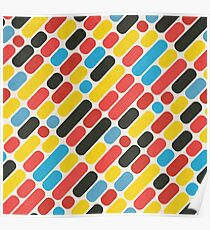 Colorful Trend Pattern Poster