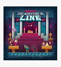 The Link Adventure of Zelda, too Photographic Print