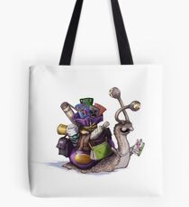 Comic Con Snail Tote Bag