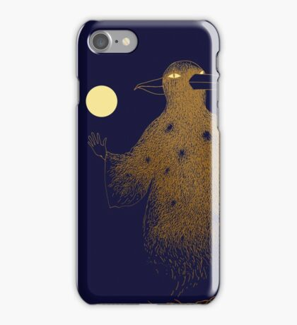 Crow Moon Shaman iPhone Case/Skin