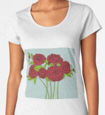 Red Roses Women's Premium T-Shirt