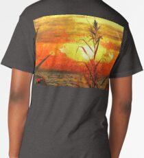 Sunset at the lake Long T-Shirt