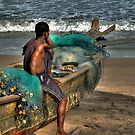 The Young Man and the Sea by Wayne King