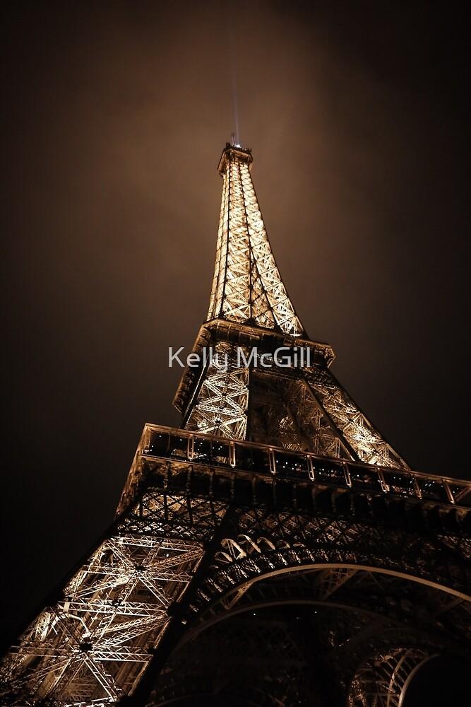 Eiffel Tower, Paris France by Kelly McGill