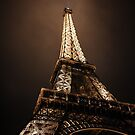 Eiffel Tower, Paris France by Kelly McGill