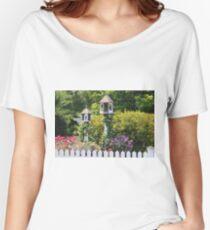 Birdhouse Flower Garden Women's Relaxed Fit T-Shirt