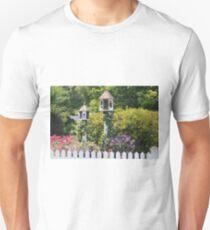 Birdhouse Flower Garden T-Shirt