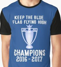 Chelsea Premier Champions 2016 2017 Graphic T-Shirt
