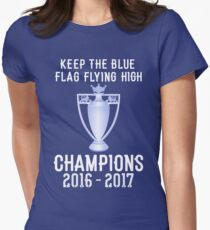 Chelsea Premier Champions 2016 2017 Womens Fitted T-Shirt