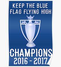 Chelsea Premier Champions 2016 2017 Poster
