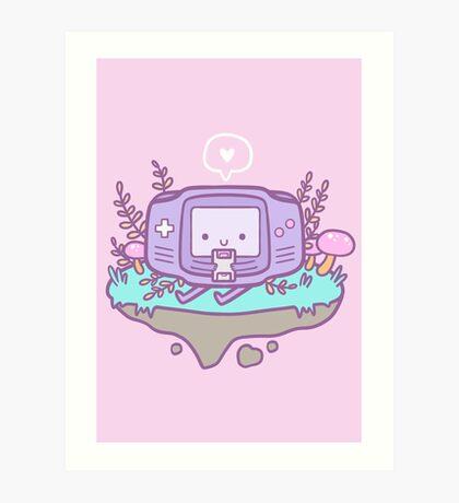 Cutie Gamer Art Print