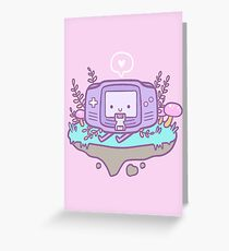 Cutie Gamer Greeting Card