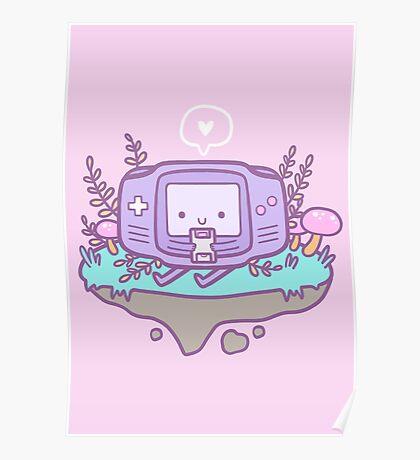 Cutie Gamer Poster