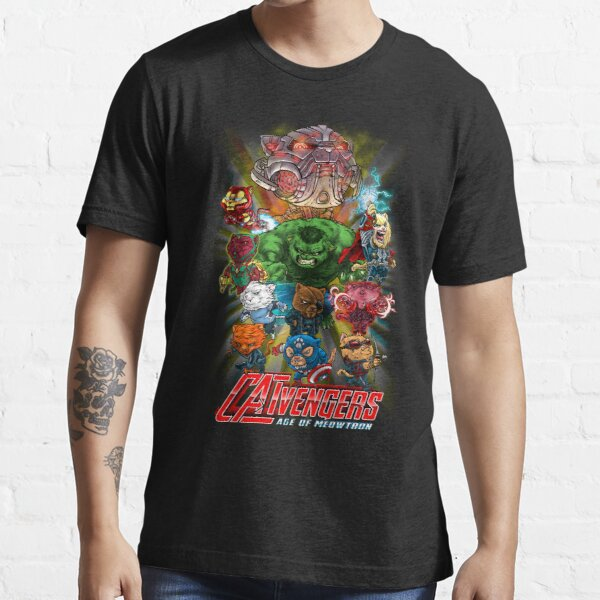 CATVENGERS-Age of Mewtron Essential T-Shirt