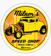 Milner's Speed Shop Sticker