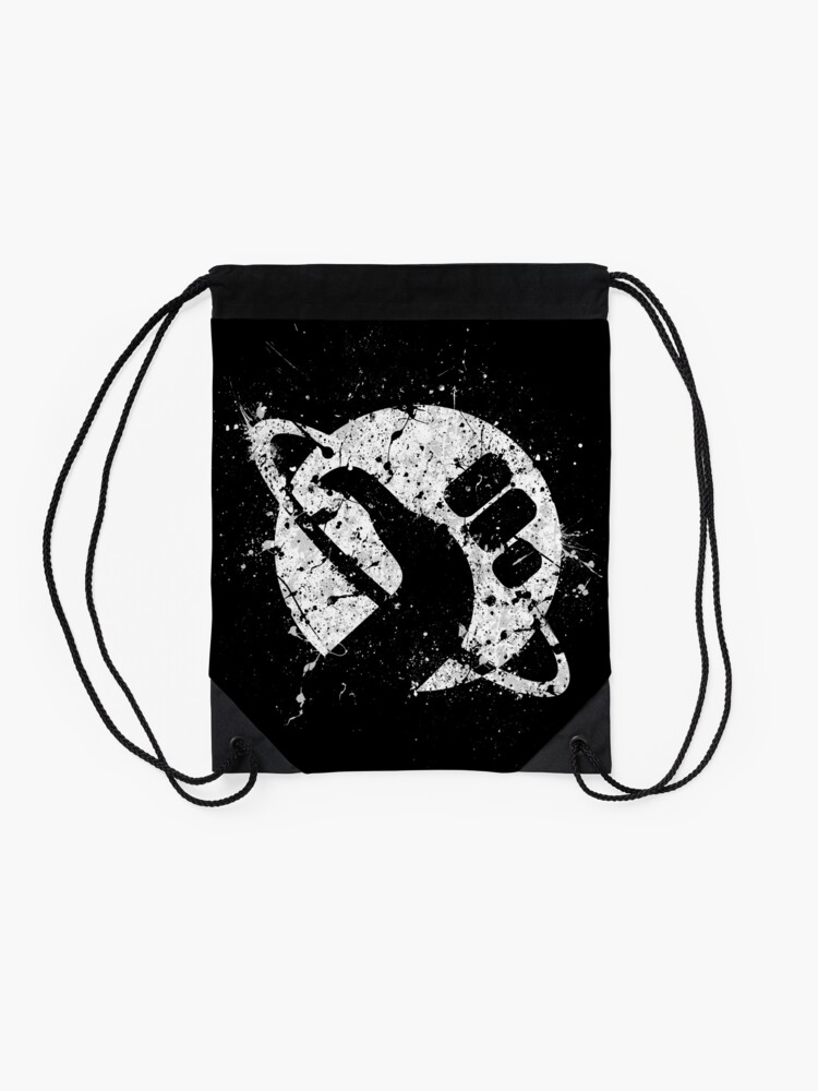 Alternate view of Hitchhiker's Guide to the Galaxy Drawstring Bag