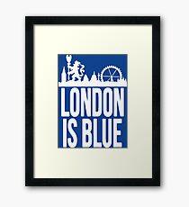 london blues Framed Print