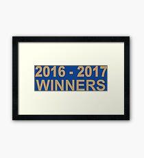 league title Framed Print