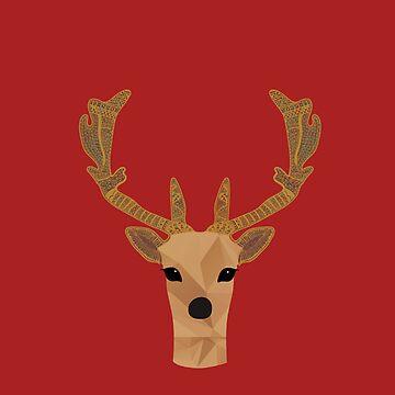 Deer by narais