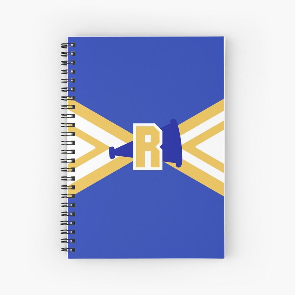 Riverdale Vixens Cheerleaders Spiral Notebook