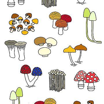 Mushroom families by m-lapino