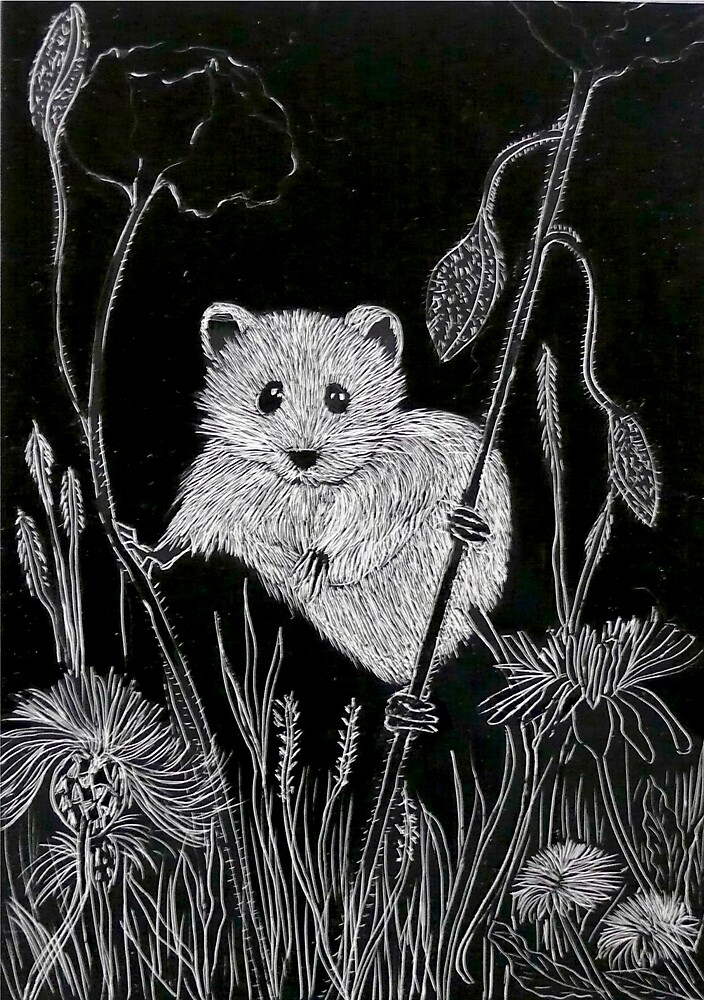 Little Harvest Mouse by Alexart