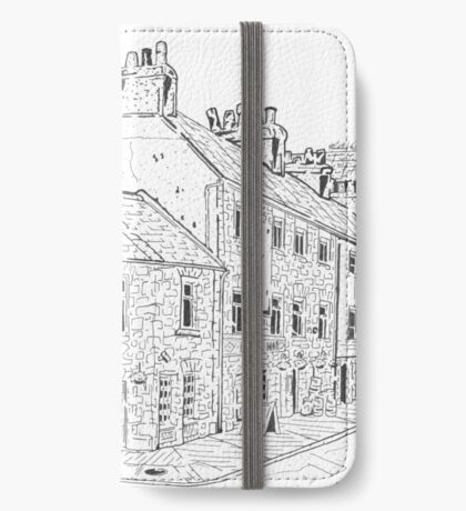 O'Conaire's On the Docks Maze (Galway, Ireland) iPhone Wallet