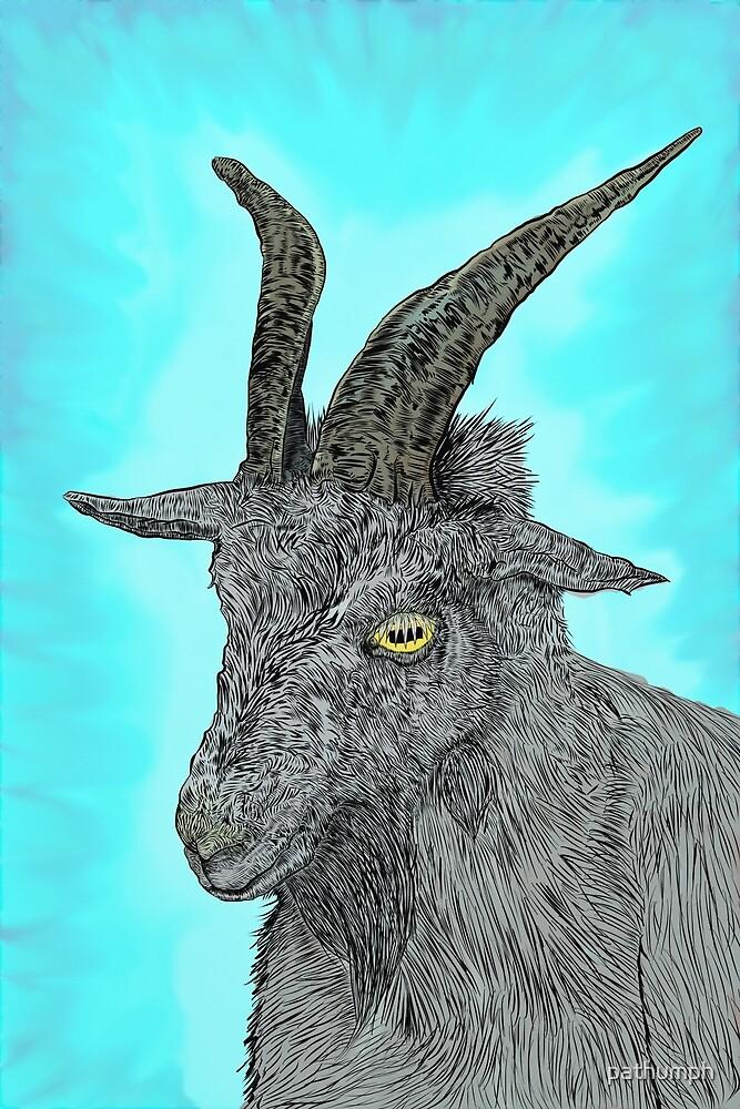 Grey Goat by pathumph