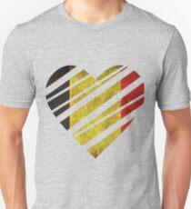 Belgium Heart Unisex T-Shirt