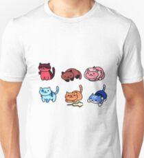 Neko Atsume: Steven Universe Version 2 T-Shirt