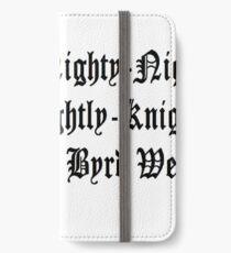 Knighty Knight iPhone Wallet/Case/Skin