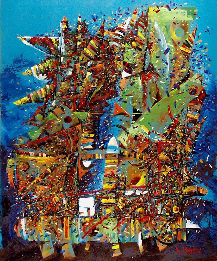 abstract 10 by Valeriu Buev