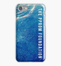 The PPROM Foundation - Blue Water iPhone Case/Skin