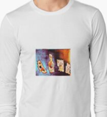 Motor , stove and gum ball machine Long Sleeve T-Shirt