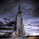 Hallgrimskirkja, Reykjavik, Iceland by Phil Scott